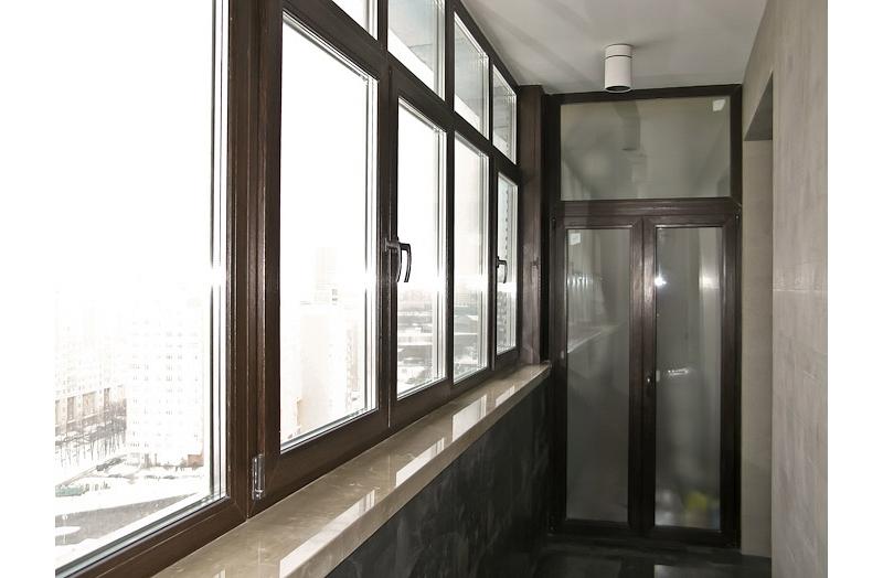 Фото остекления балконов и лоджий: примеры выполненных работ.